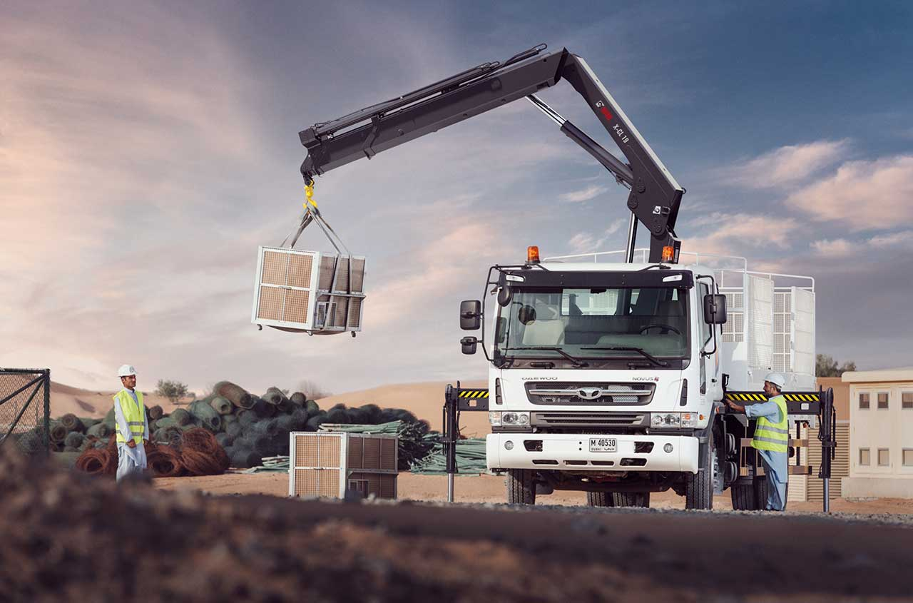 HIAB loader crane X-CL 19