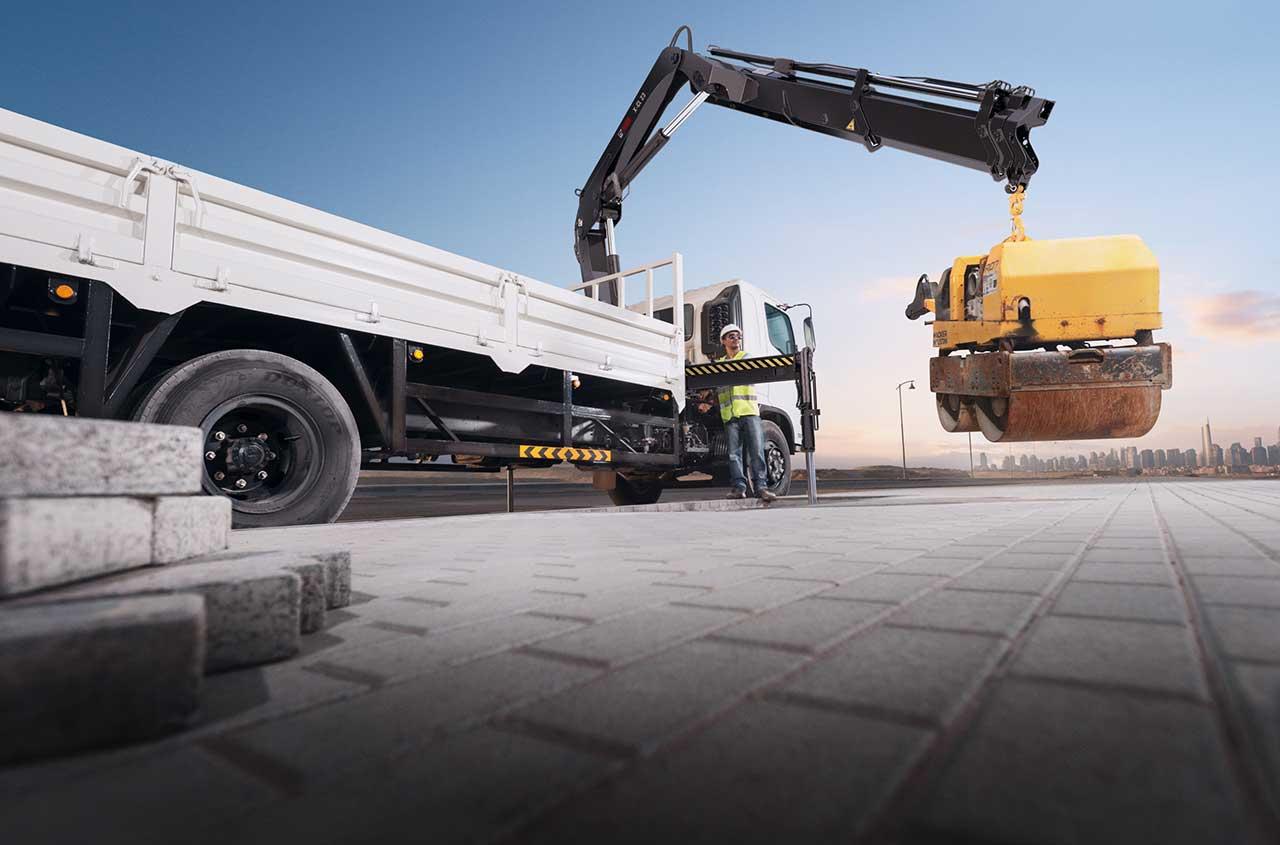 HIAB loader crane X-CL23